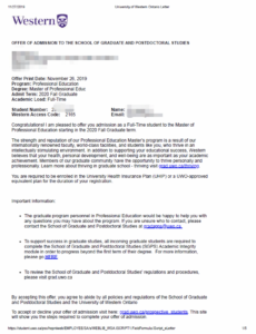 加拿大硕士申请成功案例分享: